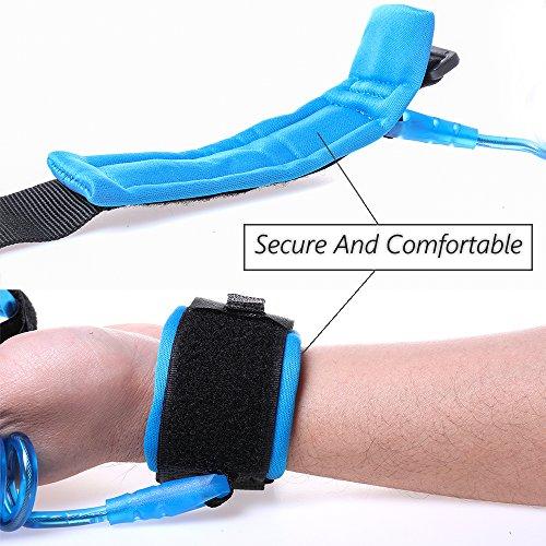DREAMZE Baby Child Anti Lost Safety Velcro Wrist Link (2.5m Blue)