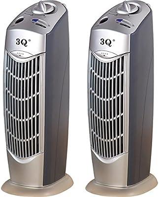 3Q ap021 Twin Pack multistage purificador de aire iónico Ionizador ...