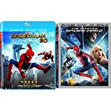 DVD : Spider-Man Homecoming (3D) + The Amazing Spider-Man 2 (3D)