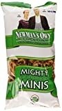 mighty pop popcorn oil - Newman's Own Organics Pretzels, Mighty Minis, 7-Ounce Bags (Pack of 12)