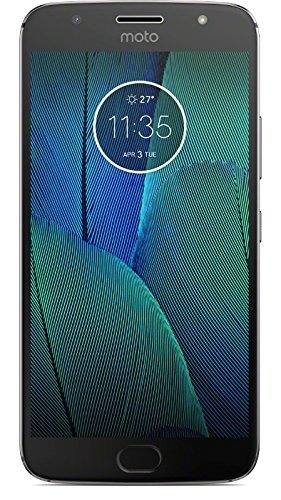 Motorola MOTO G5S Plus XT1805 32GB Dual Sim Factory Unlocked Cell Phone Lunar Gray International Model