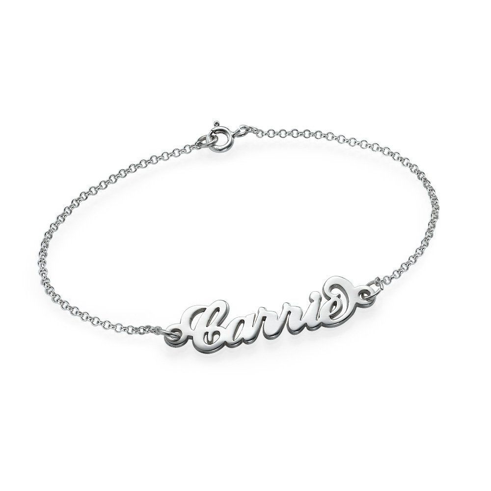 mag anklet kei by personalized name