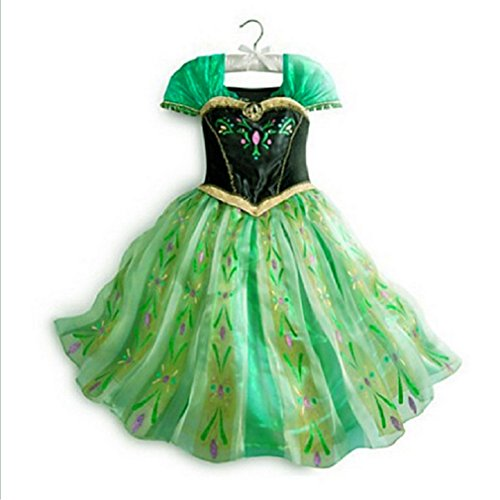 FAC1E Anna Coronation Princess Dress Girl Size 3T-6 USA (4-110cm)
