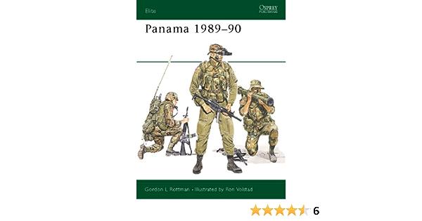 Panama 1989–90 (Elite Book 37) (English Edition)