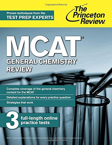 MCAT General Chemistry Review: New for MCAT 2015 (Graduate School Test Preparation)