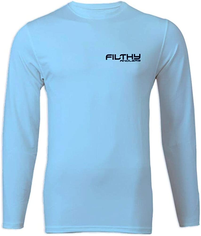 Lightweight UV Protection Bamboo Material Filthy Anglers Long Sleeve Performance UPF Fishing Shirt Multiple Options