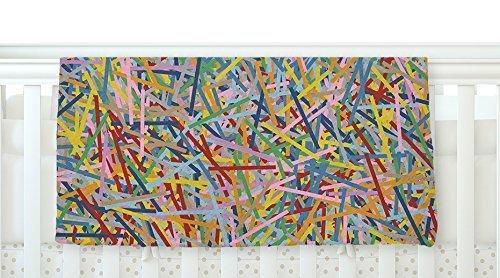KESS InHouse Project M More Sprinkles Fleece Baby Blanket 40 x 30 [並行輸入品]   B077Z35ZL1