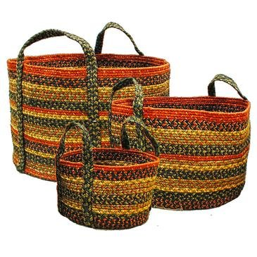 Home Spice Jute Braided Rugs Round Vancouver Basket 9