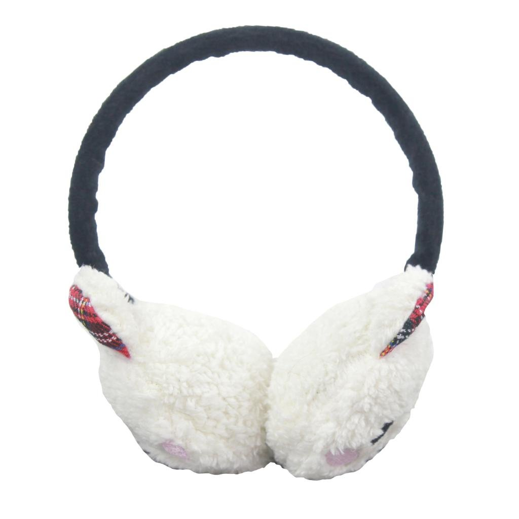 Girls Winter Warm Novelty Animal Design Earmuff Earwarmer Ear Muff Ski Hat School Wear Headband Hat