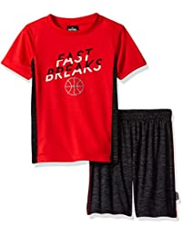 Boys' Athletic Sleeve Tee and Short Set