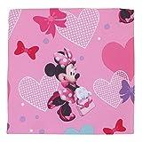 Disney Minnie Hearts & Bows 4-Piece Toddler Set,fits, Standard Toddler Mattress (52' x 28' x 8')