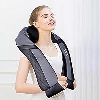 Masajeador para hombros, espalda, cuello Shiatsu, con función de calor, masajeador…