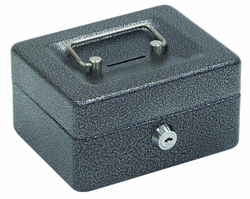 Hazmat Handle - Hercules CB0604 Key Locking Cash Box, 6