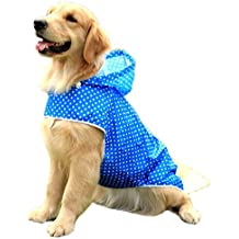 Alfie Pet by Petoga Couture - Coro Rainy Days Waterproof Raincoat (for Dogs and Cats) - Color: Blue Camo, Size: XS