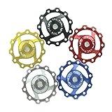 Lerway Aluminium Jockey Wheel Rear Derailleur Pulley SHIMANO SRAM 11T 1pcs (Black)
