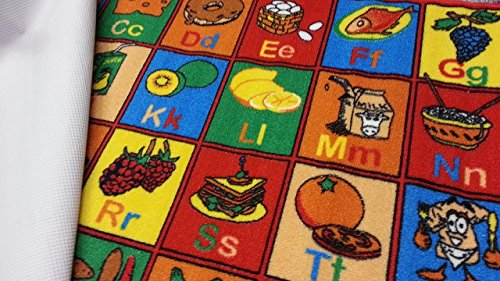 Kids Rug Abc Fruit Area Rug 39 Quot X 58 Quot For Playroom