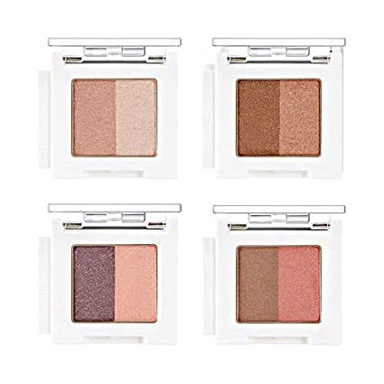 Buy Veena Br02 The Face Shop Mono Cube Eye Shadow Dual 20G