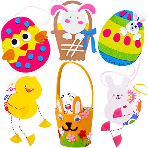 6 EASTER BASKET CRAFT PROJECTS