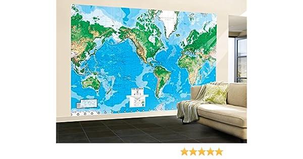 Amazon 99x164 world map huge wall mural art prints posters amazon 99x164 world map huge wall mural art prints posters prints gumiabroncs Choice Image
