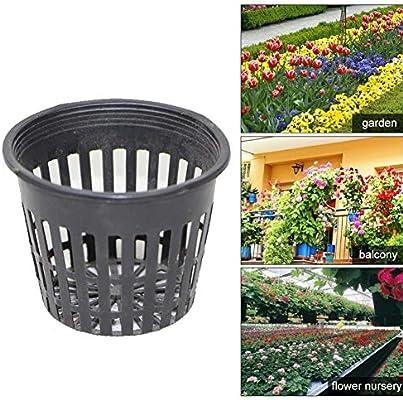 10pcs Heavy Duty Mesh Net  Basket Hydroponic Aeroponic Grow Cup Clone DIY Tools