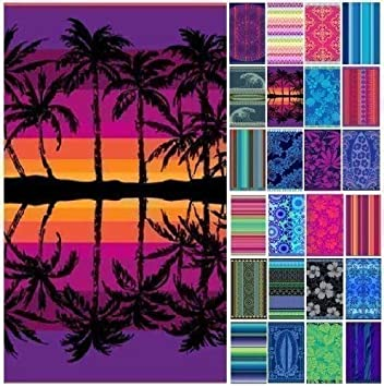 Toalla Extra Grande de Algodón Egipcio Imitación Tercioplo Jacqard para Baño Playa Vacaciones - 2 Toallas: Amazon.es: Deportes y aire libre
