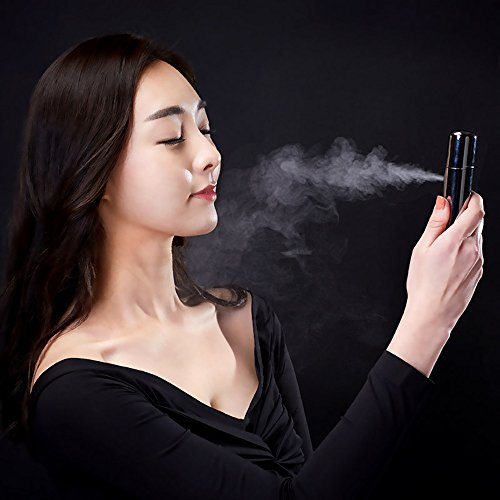 Price comparison product image iCODIS MISTPLUS Handheld Nano Facial Mist Spray Humidifier USB Rechargeable (Silver)