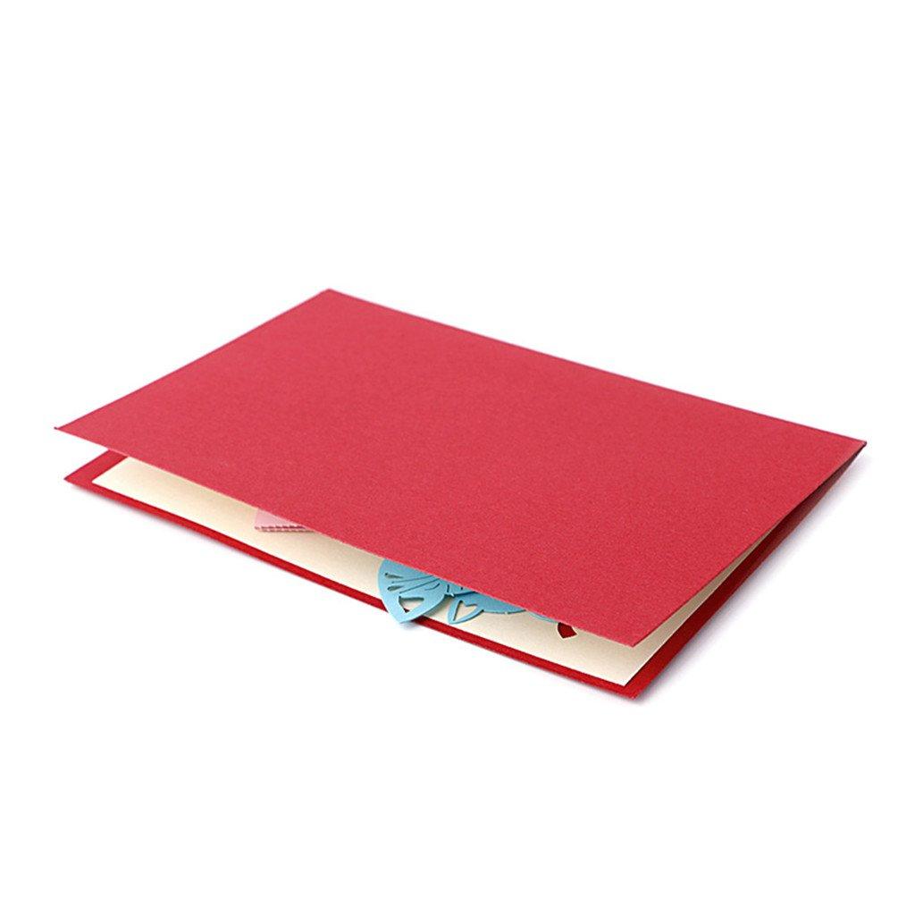 carte danniversaire carte de Saint Valentin Cadeau carte de gr/âce carte pour la f/ête carte de v/œux JAGENIE P/ère carte de f/ête chat Box carte 3d Pop Up 3d carte danniversaire
