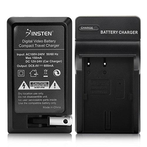 Insten BP-508 / BP-511 / BP-512 / BP-522 / BP-535 Compatible Battery Charger Set for Canon PowerShot G-Series G1 / G2 / G3 / G5 / G6 (Bp 511 Bp 511a)
