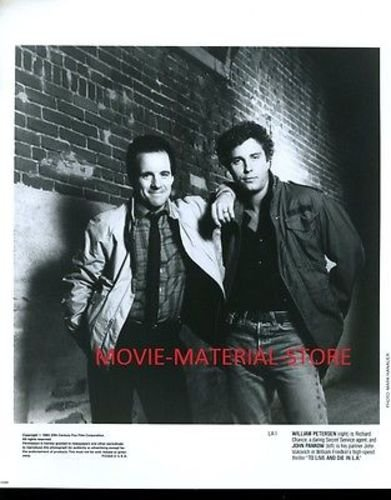 "John Pankow William Petersen To Continue And Die In L.A. Original 8x10"" Photo #L930"
