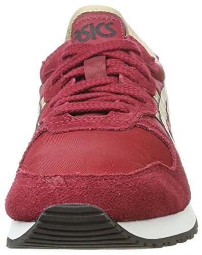 Sneakers Basses Asics Adulte Mixte beige Rouge Oc Runner wHqqZC