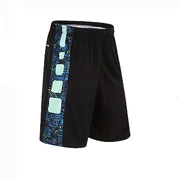 PENGYUE Atmungsaktiv Shorts Schwarz Laufen Kurze Hose Herren
