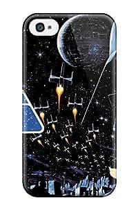 High Grade Benailey Flexible Tpu Case For Iphone 4/4s - Star Wars