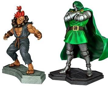 Hollywood Collectibles - Doom Vs Akuma 1.4 Set Estatua (H9276 ...