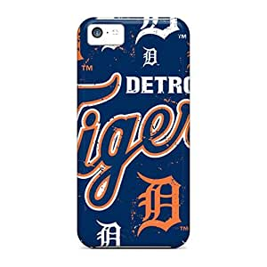 Fashionable Style Case Cover Skin For Iphone 5c- Detroit Tigers