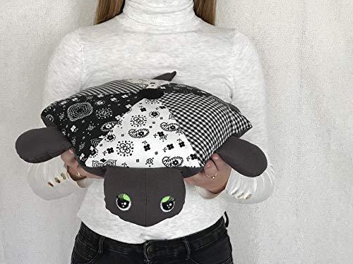 - Stuffed Animal, Stuffed Turtle, GREY