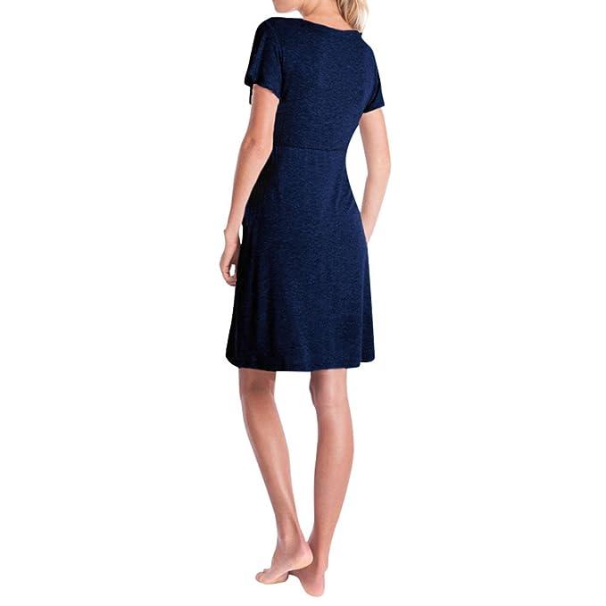 Vestidos cortos para bodas embarazadas