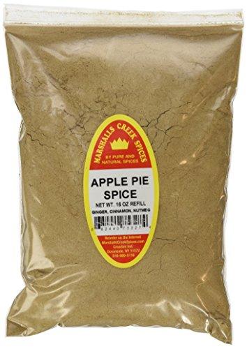 Marshalls Creek Spices X-Large Refill Apple Pie Spice, 16 Ounce - Fresh Apple 16 Oz Jar