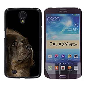 YiPhone /// Prima de resorte delgada de la cubierta del caso de Shell Armor - Tibetan Mastiff Caucasian Sheepdog Dog - Samsung Galaxy Mega 6.3 I9200 SGH-i527