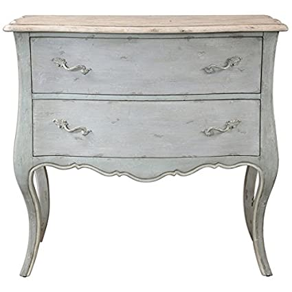 Kathy Kuo Home Cosette French Country Antique Ivory Soft Grey Dresser - Amazon.com: Kathy Kuo Home Cosette French Country Antique Ivory Soft