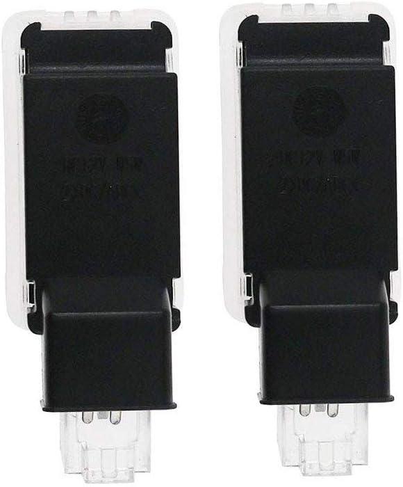 MIVISO 2 Pi/èces Voiture Porte Lumi/ères LED 3D Voiture Lumi/ère Dentr/ée D/éclairage Bienvenue Projecteur Lampe Logo Lumi/ère