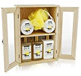 Spa Chest Sandalwood Vanilla Premium Spa Basket for Men & Women. Holiday Gifts for Men. Deluxe Gift Baskets for Birthday Gifts, Anniversary Gifts, Thank You Gifts, etc review