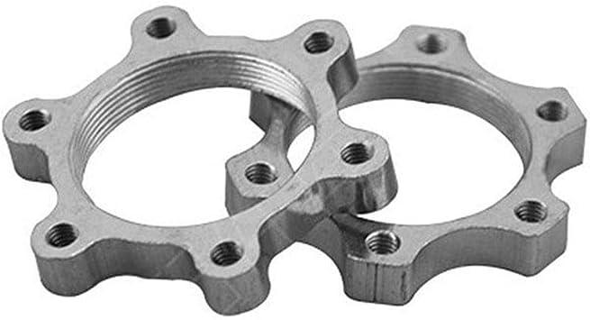 Disc Brake Rotor Adaptor 48mm MTB Bicycle Flange Freewheel Threaded Hubs
