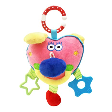 Rattles Hearty Rainbow Handbells Developmental Toy Bed Bells Infant Kids Baby Toys Rattle Toys For Baby