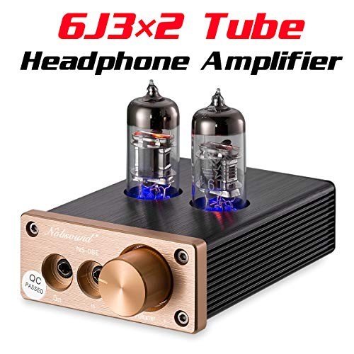 Nobsound NS-08E Vacuum Tube Integrated Amplifier Mini Audio HiFi Stereo Headphone Amp