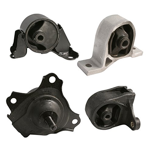 4pc Motor Engine Mounts Set Kit for 01-05 Honda Civic - 1.7L Cylinder Automatic Transmission - 2001 2002 2003 2004 2005