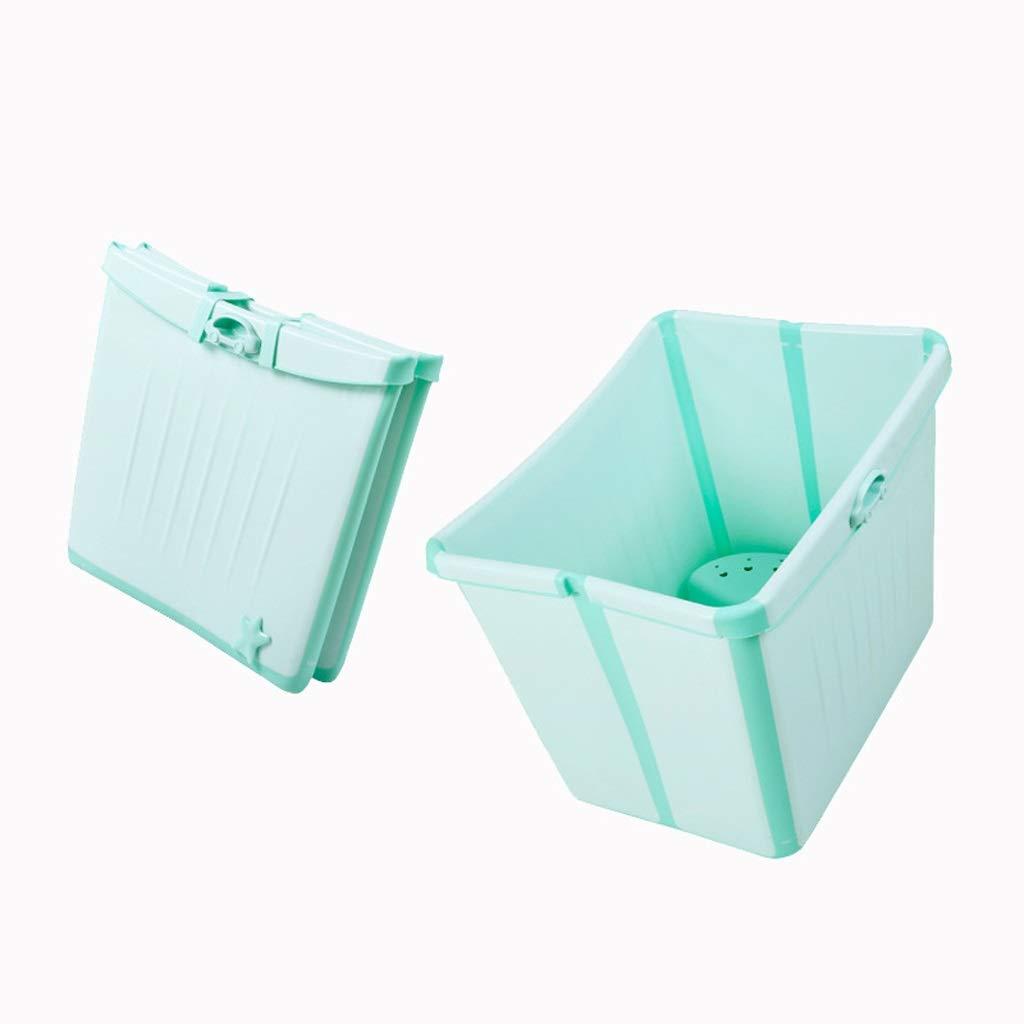 新発売の WANGXIAOLINyg 折りたたみ浴槽*、グリーン、ベビープラスチック製スイミングプール、環境保護 49、子供用浴槽 B016ZIOBHS、64* 47* 49 cm、多機能、子供用折りたたみ浴槽、長期ロック温度、携帯用浴槽 B016ZIOBHS, タキノウエチョウ:f47ba99f --- ballyshannonshow.com