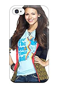 Sophia Cappelli's Shop Best Tpu Shockproof Scratcheproof Victoria Justice Hard Case Cover For Iphone 4/4s