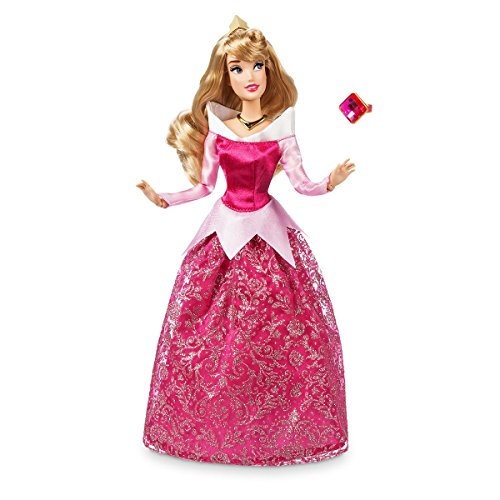 SleppingB Disney Store Aurora Classic Doll with Ring -11 1/2'' 2018 -