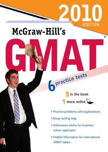 Download McGraw-Hill's GMAT, 2010 Edition (Mcgraw Hill's Gmat (Book Only)) Pdf