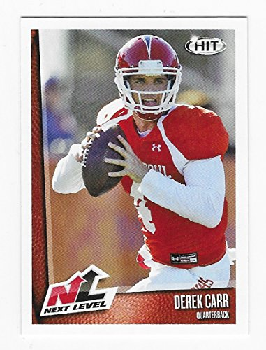 "Derek Carr ""Next Level - Pre NFL"" Collectible Football Card - 2014 SA-GE Football Card #59 (Oakland Raiders) Free Shipping"